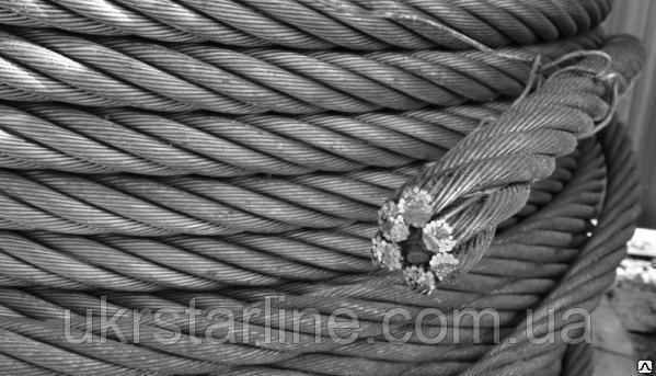 Канат стальной 7,6 мм ГОСТ 2688-80