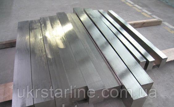 Квадрат нержавейка 30х30 мм н/ж 10,0 AISI 304 12Х18Н10Т ГОСТ
