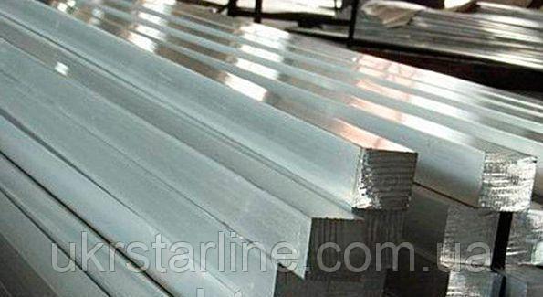 Квадрат стальной горячекатанный 25х25 мм ст. 3, 20, 35, 45, 40Х