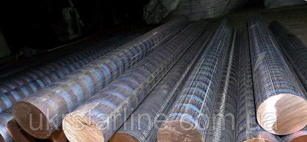 Круг бронзовый БрАЖ 9-4 ф 140мм