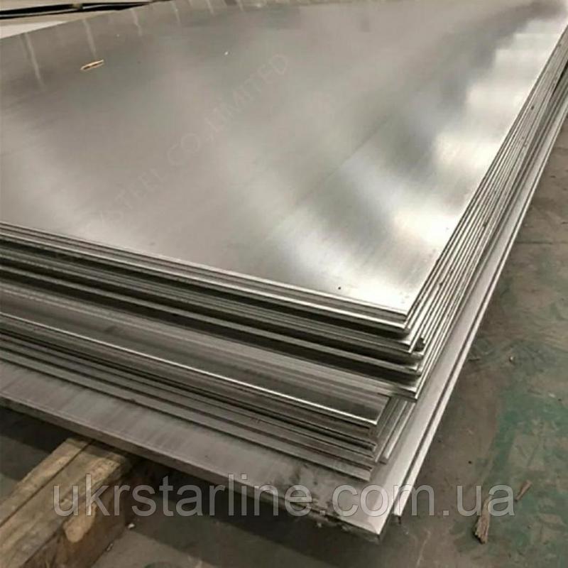 Лист алюминиевый 1,0*1500*3000