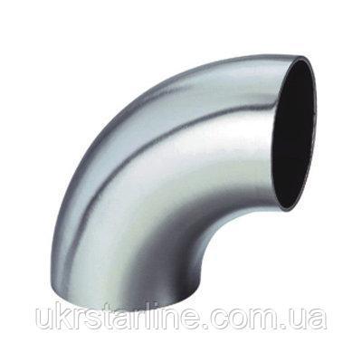 Отвод нержавеющий 16 мм