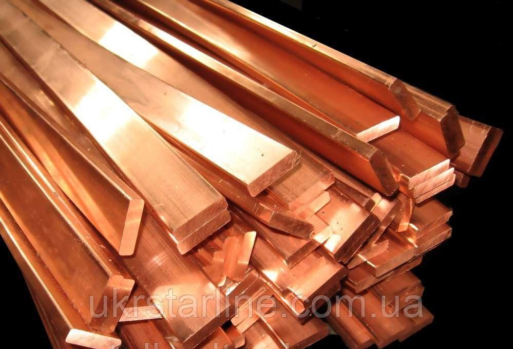 Полоса (Шина) медная М2 10х80х3000
