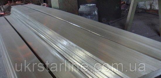 Полоса нержавеющая 10х60 мм AISI 304 пищевая матовая