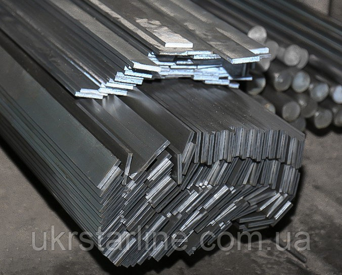 Полоса сталь 20, 45, 40Х толщина 10-150мм