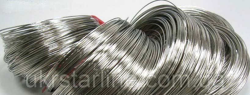 Проволока из никеля O 0,03-12 мм НП1. ГОСТ 2179-75