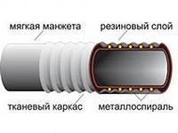 Купить Рукав O 16 мм всасывающий кислотно-щелочной КЩ-1-16 ГОСТ 5398-76