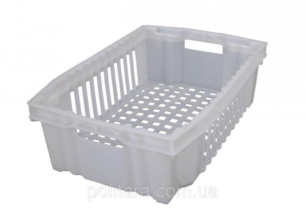 Купить Ящик конусный для продуктов 600х400х180 белый
