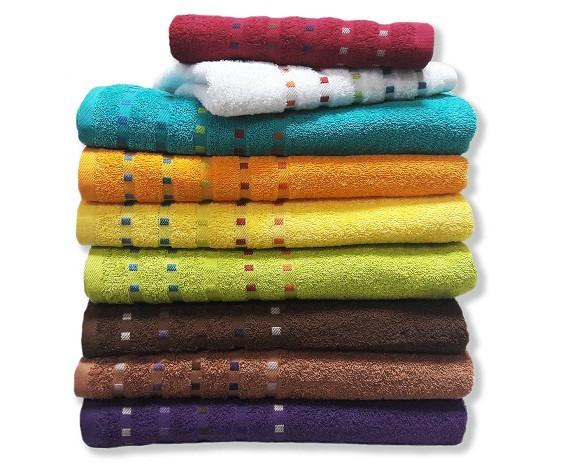 Купить Полотенце махровое Мозаика 70х140см, разные цвета Zastelli