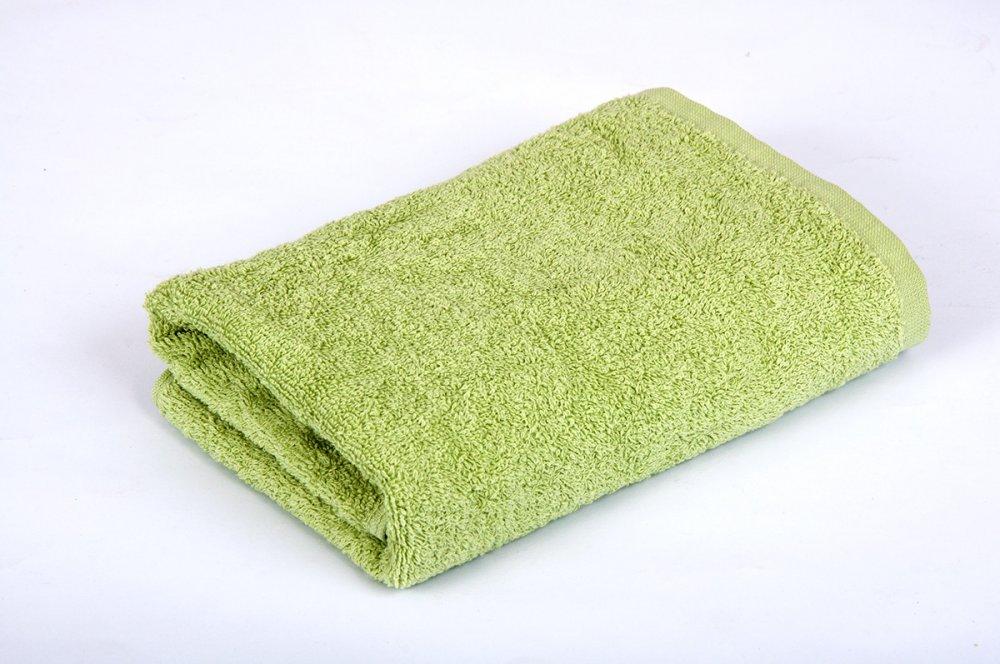 Купить Полотенце махровое 50х90см Оливковое 420гр Lotus