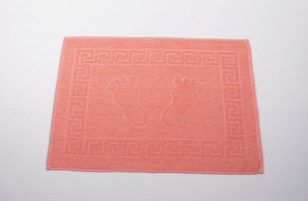 Купить Полотенце для ног 50х70см оранжевый 550гр Lotus