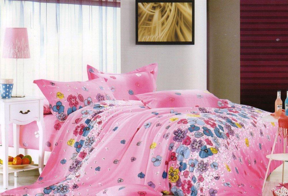 Купить Комплект полуторного сатинового постельного белья ТМ Queensilk 1911