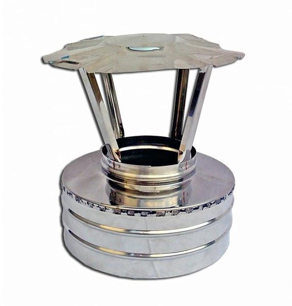 Купить Утепленный сендвич Грибок Ø120/220 мм из нержавеющей стали