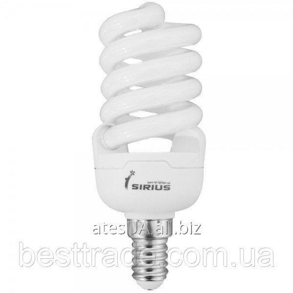 Купить Sirius люмінісцентна Б-лампа КЛЛ 13 Вт Е14