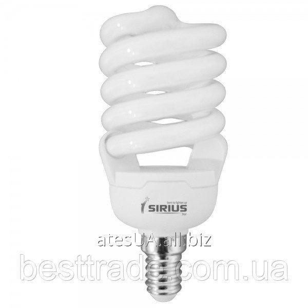Купить Sirius люмінісцентна Б-лампа КЛЛ 20 Вт Е14