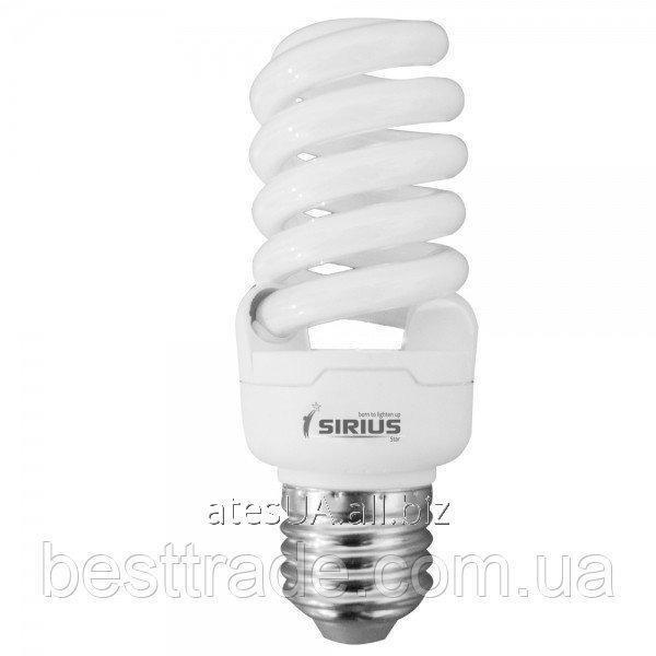 Купить Sirius люмінісцентна Б-лампа КЛЛ 15 Вт Е27