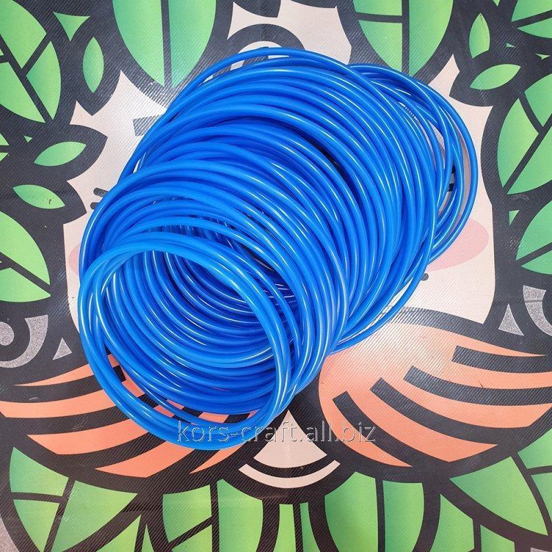 Купить Шланг пластиковый синий 6х4 мм.