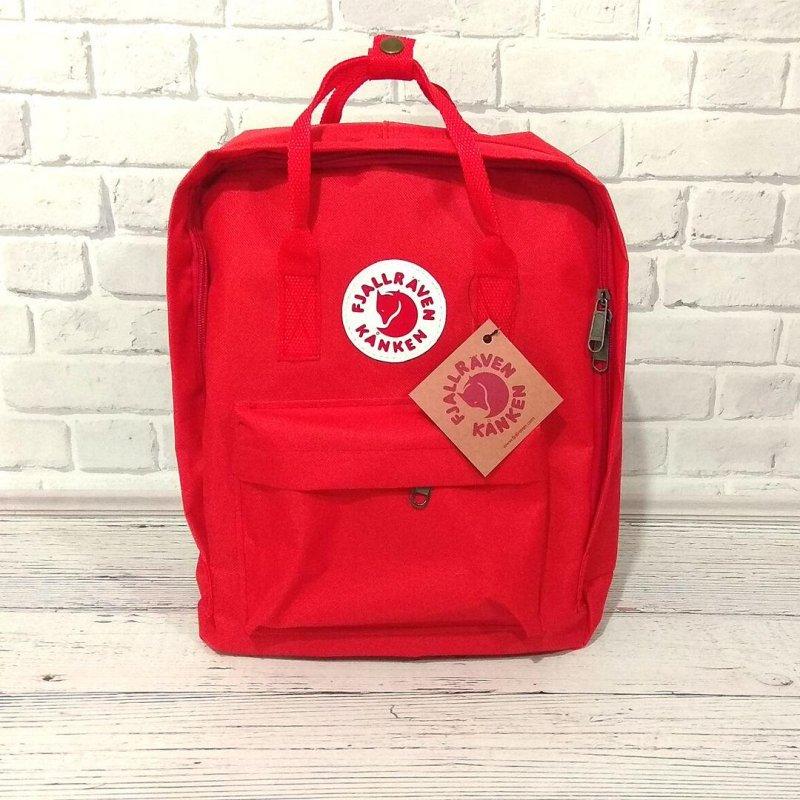 Рюкзак FJALLRAVEN KANKEN канкен + Органайзер ( 7 цветов ) Красный
