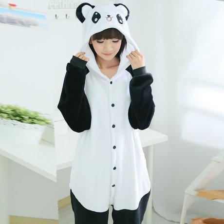 Пижама кигуруми Панда (взрослые и детские размеры)
