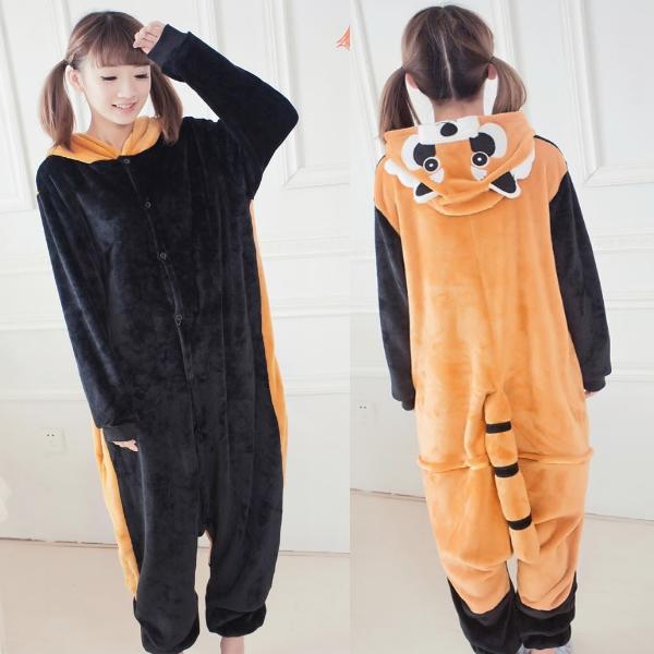 Пижама кигуруми Взрослая Енот