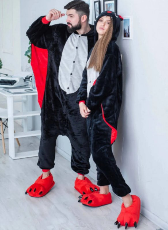 Пижама Кигуруми  Летучая Мышь Унисекс