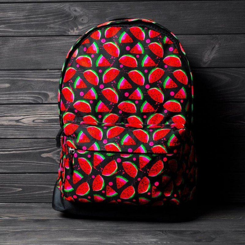 Рюкзак с принтом Арбуз