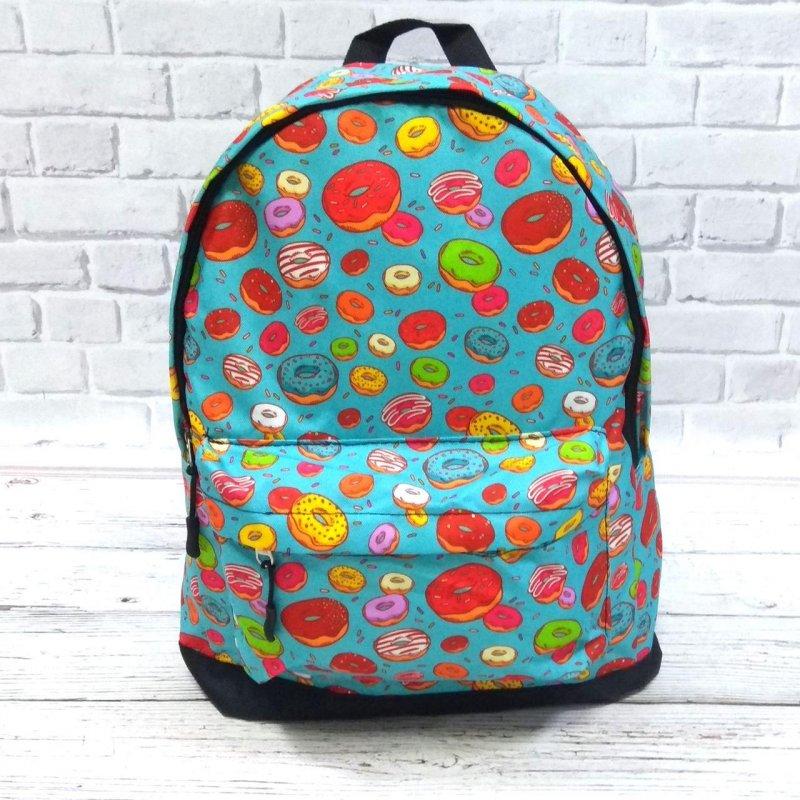 Рюкзак с принтом Пончики