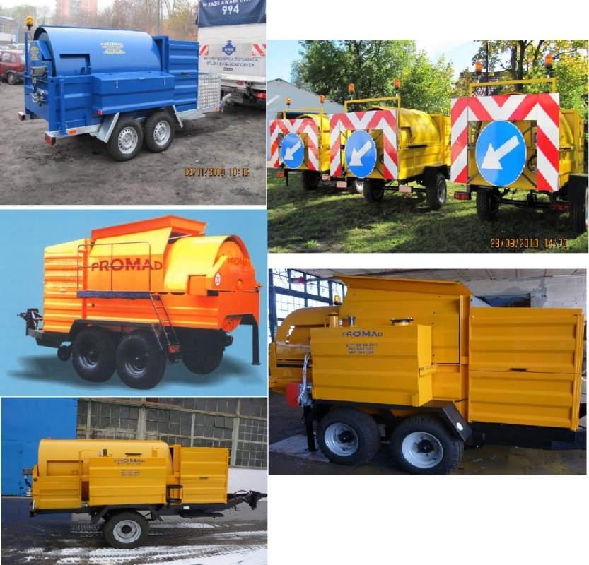 Buy Machines for processing of the removed MPA asphal