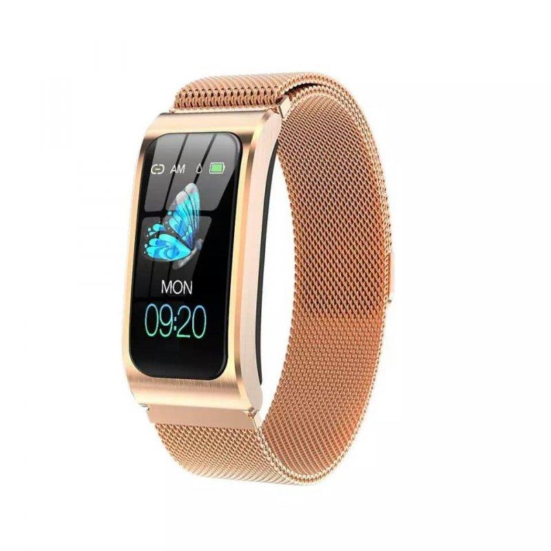 Купить Смарт-часы, браслет Nova AK12 с тонометром и защитой IP68 Золото