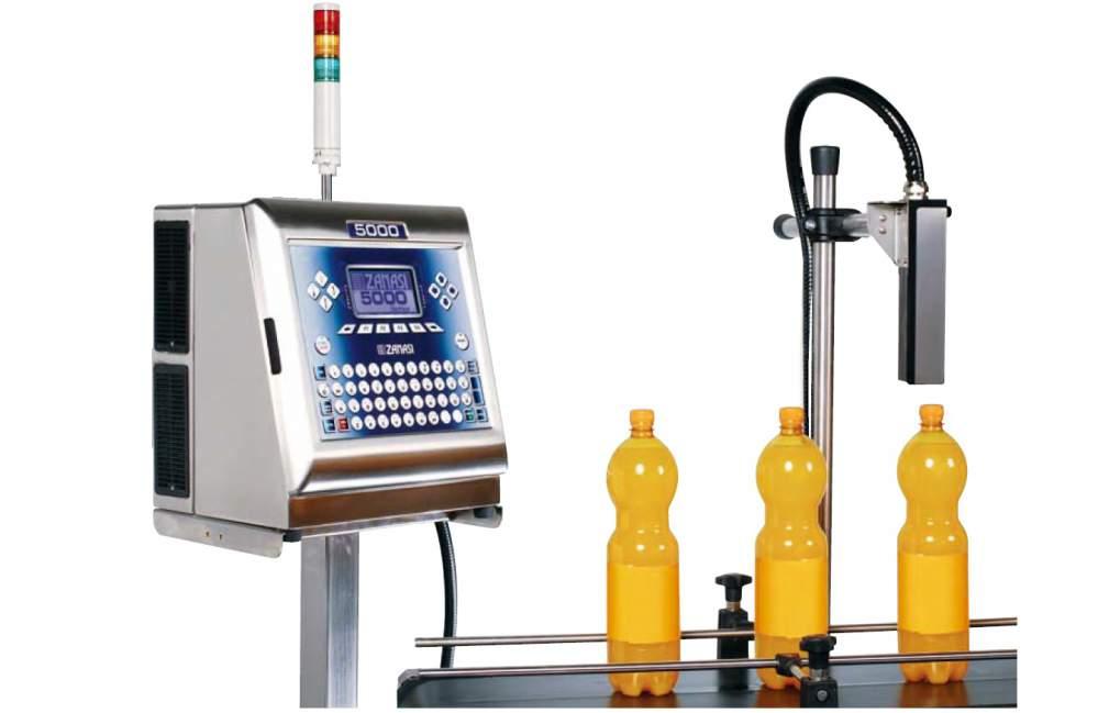 Купить Пятистрочный мелкосимвольный CIJ маркировочный принтер Z5000 производства Zanasi