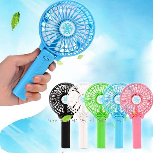 Купить Портативный мини вентилятор с USB зарядкой