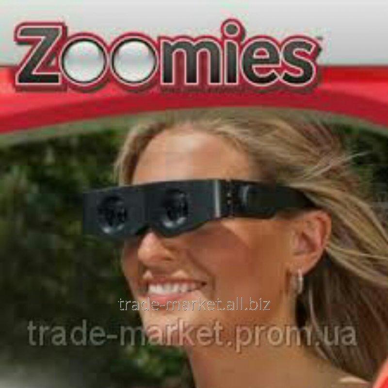 Купить Очки с увеличительным стеклом очки-бинокль Zoomies