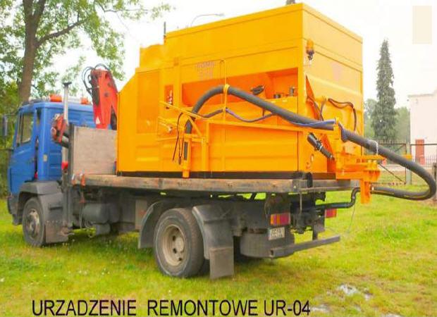 Купить Установка для ремонта дорог - ремонтная машина UR-04