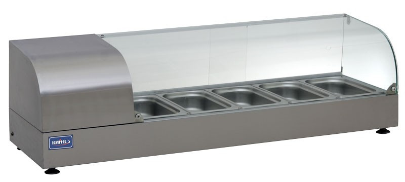 Купить Вітрина холодильна КИЙ-В ВХН-Р-5-1225