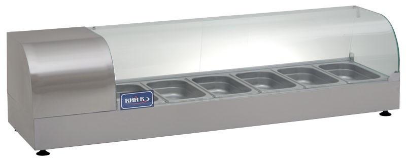 Купить Вітрина холодильна КИЙ-В ВХН-Р-6-1425