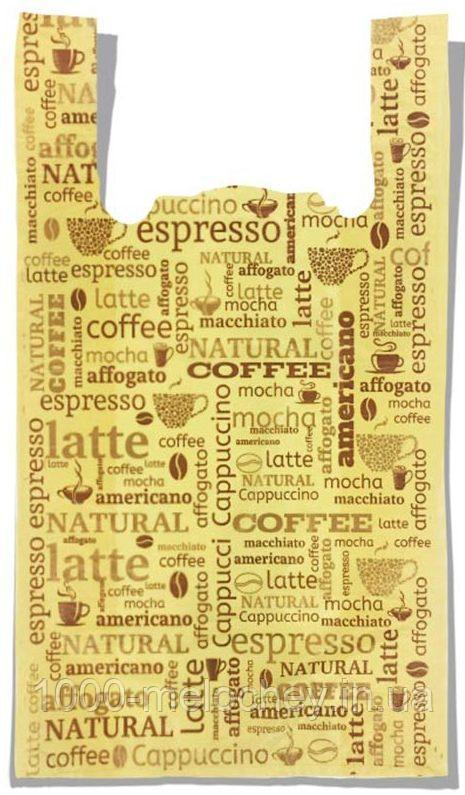 """Пакет-майка """"Coffee"""" (30×54) 100 шт"""