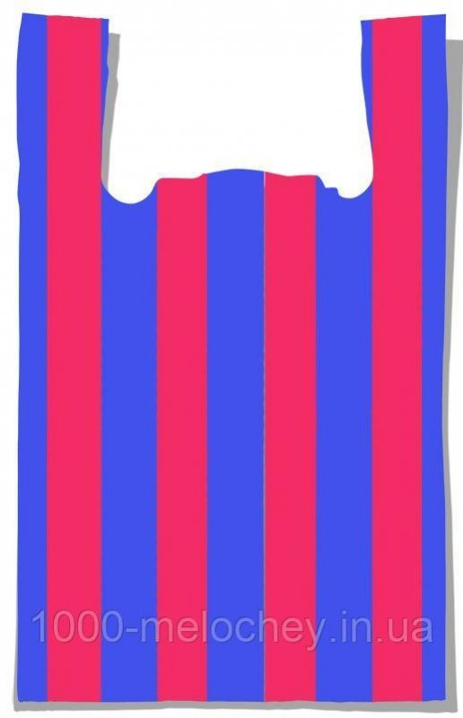"Пакет-майка ""Полоса №3"" Comserv (41×70) 100 шт"