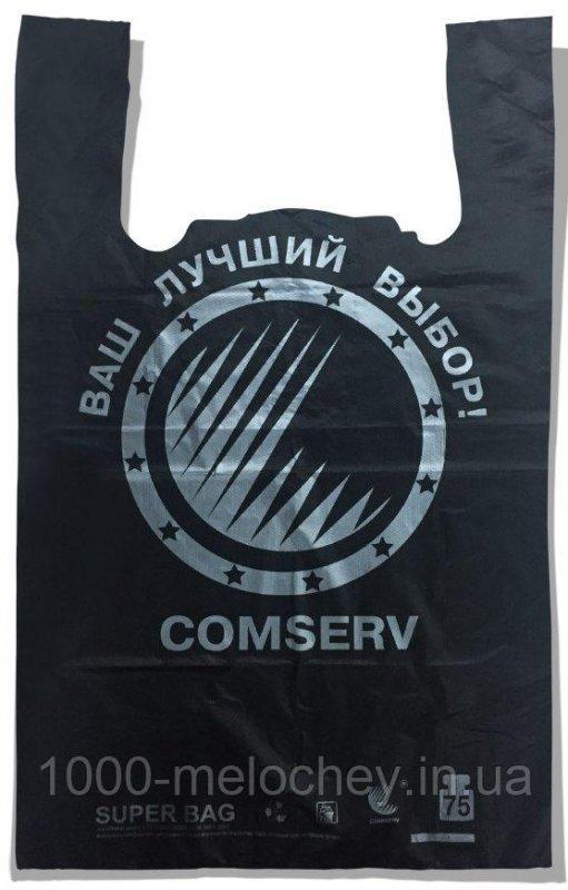 "Пакет-майка тип ""BMW"" ""Comserv"" (43×75) 100 шт"