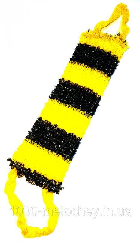 Мочалка банная Пчела