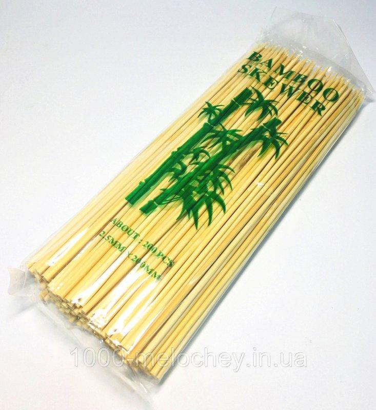 Бамбуковые палочки 200mm (200шт/уп), бамбуковые палочки для шашлыка