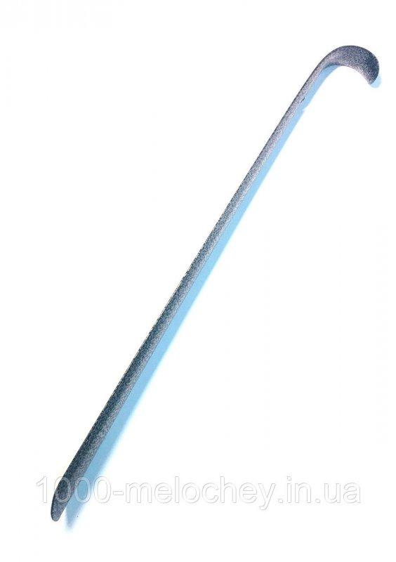 Лопатка, рожок для обуви цельнометаллический загнутый (80cm)