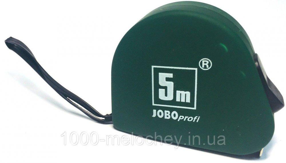 Рулетка измерительная с фиксатором JOBO profi 5m * 19mm