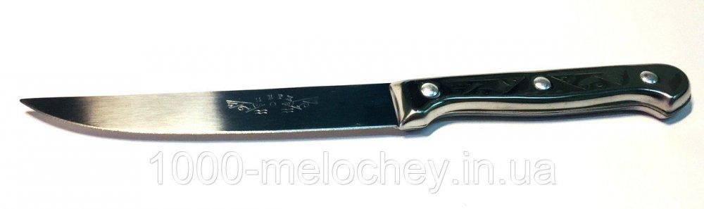 Нож кухонный универсальный, нож цельнометаллический средний (220/120mm)