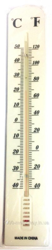 Термометр уличный большой (390mm*60mm), Китай