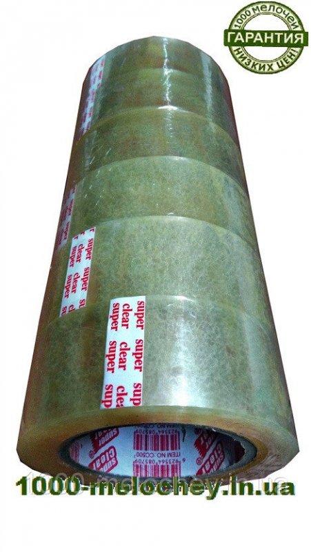 Скотч упаковочный 100 f (45 мкм * 45 мм) прозрачный