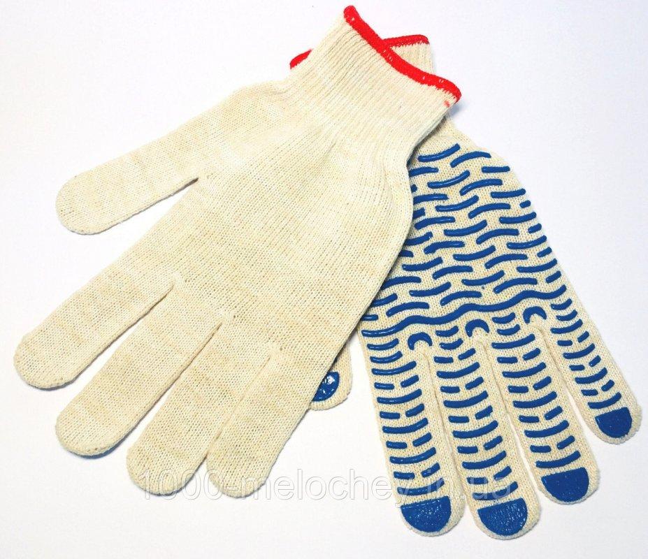 Перчатки рабочие х/б Волна