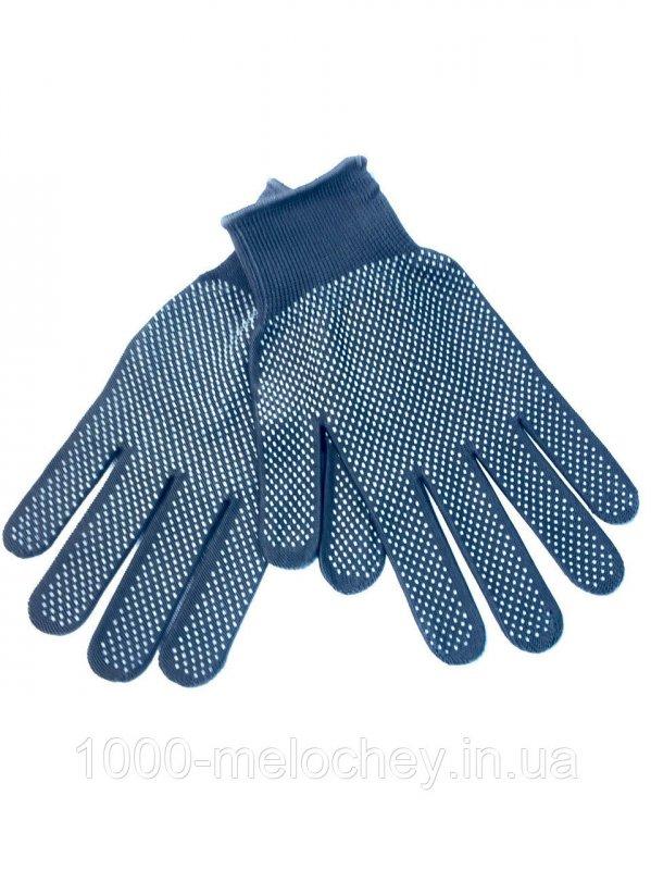 Перчатки рабочие трикотажные с точкой(тонкие), нейлон