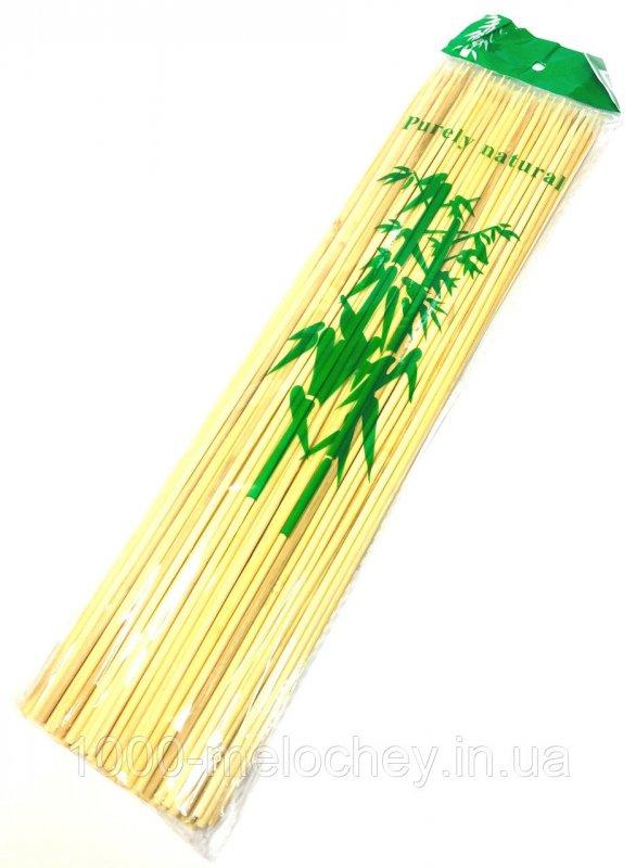 Бамбуковые палочки 300mm (100шт/уп), бамбуковые палочки для шашлыка