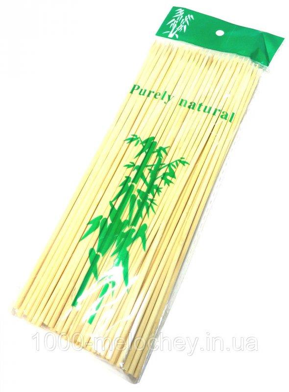 Бамбуковые палочки 200mm (100шт/уп), бамбуковые палочки для шашлыка