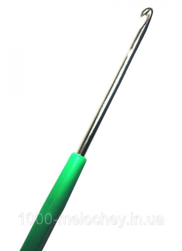 Крючок для вязания №3 (140mm), пластиковая ручка